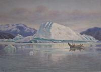 """stunning oil painting 100% handpainted on canvas """"Alaska Coast """""""
