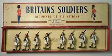 W Britain Britains Set # 196 Greek Evzones w/ Box