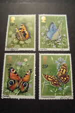 GB 1981 Commemorative Stamps~Butterflies~Very Fine Used Set~(ex fdc)UK Seller