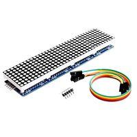 Red/Blue/Green MAX7219 Dot led matrix MCU control LED Display module for Arduino