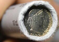 Gem Unc Original Roll (50) Switzerland 1983 10 Rappen Coins~Excellent~Free Ship