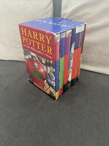 Harry Potter 1-4 Book Box Set Collection Rare 1st Edition 28th Print Bloomsbury