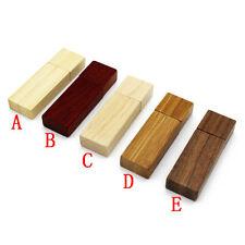USB Stick # 2 aus Massivholz verschiedene Holzarten 8 GB - neu