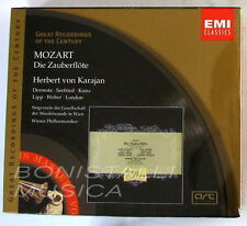 Mozart, DIE ZAUBERFLOTE - DERMOTA, SEEFRIED, KUNZ - KARAJANC -  2 CD Sigillato