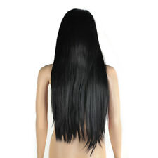 Women Full Lace Wig 100 Remy Brazilian Human Hair Wigs Wave Straight 22""