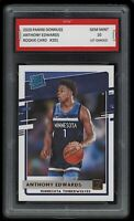 2020/21 Anthony Edwards NBA Panini Donruss Rookie 1st Graded 10 Wolves RC Card🌟