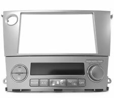 GENUINE SUBARU OUTBACK LIBERTY LEGACY SILVER DOUBLE DIN FASCIA AV PANEL SET KIT