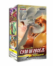 "Pokemon cards Sun&Moon SM10 ""Double Blaze"" Booster Box / Korean Ver"