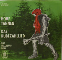 """HELLBERG-DUO - Hohe Tannen - Das Rübezahllied - Vinyl  7"""" (L106)"""