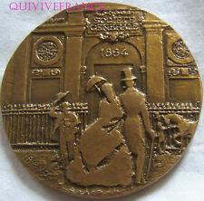 MED6088 - MEDAILLE CENTENAIRE BANQUE SOCIETE GENERALE 1864-1964 par REVOL