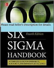 Six Sigma Handbook 4E by Pyzdek