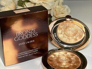 Estee Lauder Bronze Goddess Highlighting Powder Gelee 02 Solar Crush NIB Free Sh