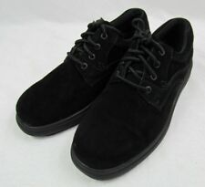 NEW Hush Puppies Men's Glen Oxford Dress Shoes -Black Suede- SIZE 11 W - NIB