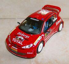 PEUGEOT 206 WRC RALLYE DE CHYPRE 2005 DANIEL CARLSSON IXO