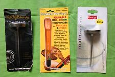 Three 3 X Meat Thermometer Probe Excellent Condition Boxed New Prestige