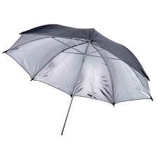 "33"" 85cm Black Silver Reflective Photo Video Studio Umbrella Fit Flash Lighting"