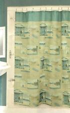 Bacova Beach Cruiser Fabric Shower Curtain Beach Summer House Tropical