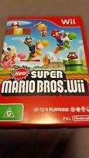 New Super Mario Bros. - Nintendo Wii Game - AUS PAL