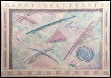 "Catherine Hobart ""Modern Language II"" Signed & Numbered Serigraph Art Make Offer"