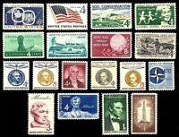 1959 COMPLETE YEAR SET O MNH VINTAGE U.S. POSTAGE STAMPS,NICE!!!