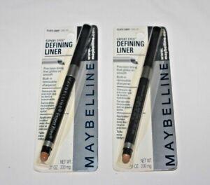 Maybelline Expert Eyes Defining Liner Slater Gray Lot Of 2 In Box