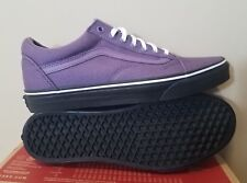 VANS UA Old Skool Shoes Purple Black Outsole Mens Size 9 Womens 10.5 New