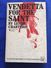 VENDETTA FOR THE SAINT - FIRST AMERICAN EDITION BY LESLIE CHARTERIS