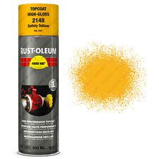 x19 ULTRA HAUT recouvrement Rust-Oleum sécurité jaune Peinture aérosol