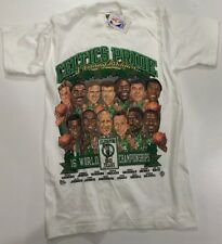 Pro Player Vintage Boston Celtics tshirt Celebrating 50 Years Caricatures-SM-NWT