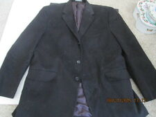 Men's Sports Jacket Apt 9 Black size L 100% cotton new w/o tags