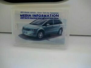 BYD Electric Vehicle Car Media Press Info USB Pen Drive Brochure 2009 NAIAS