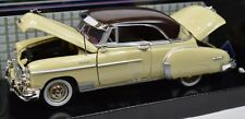CHEVROLET BEL AIR 1950 MOTORMAX 73268 1:24 NEW DIECAST MODEL YELLOW BROWN