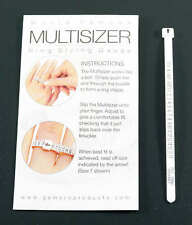 Ring Gauge MULTISIZER Measure Your Finger Size to Buy Rings on Line Clean