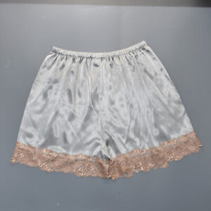 Lace Pajama Trousers Anti-Static Pettipants Satin Panties Shorts Plus Size Women
