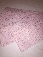 Rachel Ashwell Simply Shabby Chic Full Flat Sheet & 2 Pillow Cases Roses Mon Ami