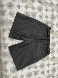 Lululemon Yoga lounge Shorts Dark Gray Mens Size Large - Preowned