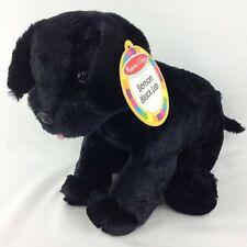 Melissa & Doug Benson Black Lab Puppy Dog Stuffed Animal Plush 7484