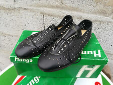 N.O.S chaussures CYCLISTE HUNGA modele TOUR DE FRANCE cuir tail 40 course pista