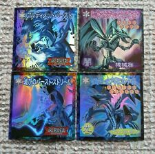 YUGIOH Bandai Sealdass Blue Eyes White Dragon Red Eyes Black Metal Dragon
