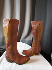 Boots koah Leather And Suede Caramel 39