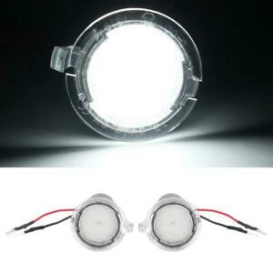 2x LED SMD White 6000K Can-Bus Mirror Courtesy Lights For Ford Explorer New