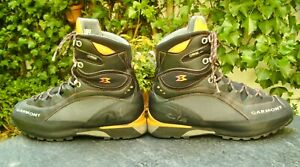 GARMONT 🇫🇷 Trekking-/Bergstiefel Gr.45 Leder GORETEX® VIBRAM® getr. NP:379€