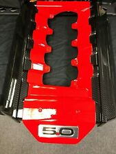 Ford Mustang GT Custom Hydrographic Carbon Fiber Engine Cover 5.0 2015 - 2017