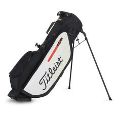New Titleist Golf Players 4 Stand Bag TB9SX4-016 Black White Red
