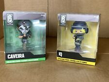 Ubisoft Rainbow Six Siege CAVEIRA Chibi & IQ Collectables Vinyl Figures