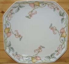 "Villeroy & Boch Heinrich Fruit Garden Square Cake Plate or Platter, 11""  (C)"