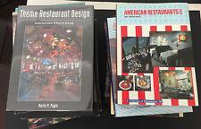 Lot of 15 Restaurant Food Retail Cafes Stores Shops Interior Design Books