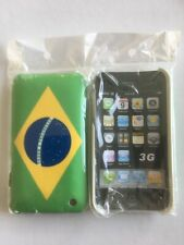 Coque house protection drapeau BRESIL Brazil IPHONE 3G