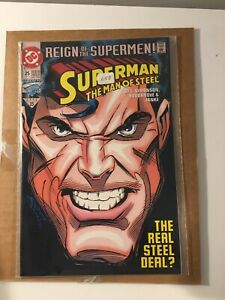 Superman 2 comic Lot #84 and Man of Steel #25! I combine Shipping!