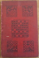 1905 JOHN T. DENVIR'S TRAPS & SHOTS Illustrated Checkers Draughts